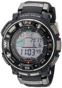 Casio Mens Pro Trek PRW2500R Tough Solar Digital Sport Watch