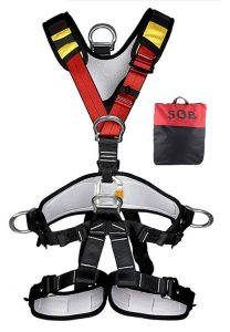 Full Body Safety Harness Safe Seat Belt for Outdoor Tree Climbing Harness