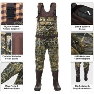 HISEA Chest Waders Neoprene Duck Hunting Waders
