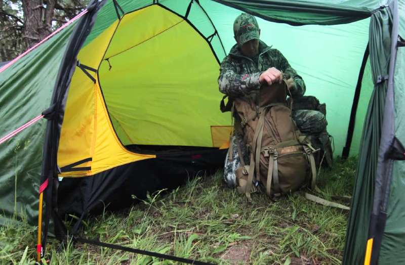 Tent for Backcountry Elk Hunt