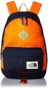4. The North Face Berkeley Backpack – Urban Navy-Persian Orange