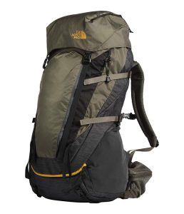 6. The North Face Terra 65 Backpack for travel