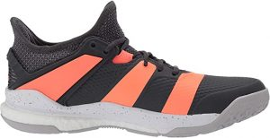 Adidas Men's Stabil X Cross Trainer, Mystery Ink Cloud White Solar Red