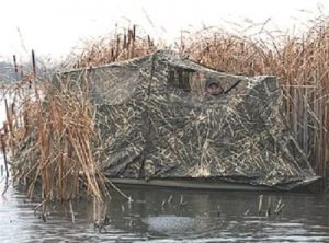 Beavertail 1200 2000 Series 400079 Stealth Max-4 Duck Hunting Boat Blind